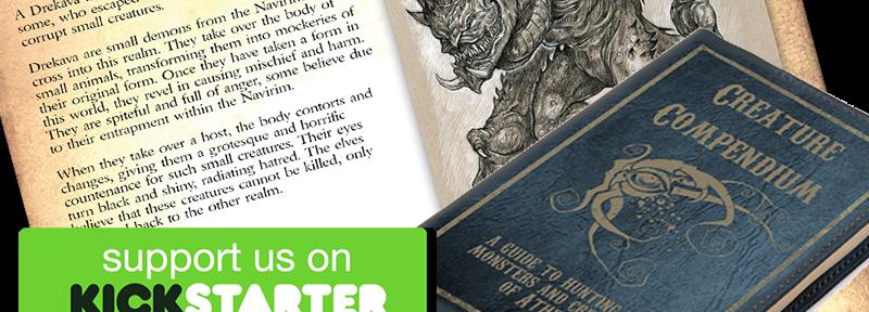 Creature Compendium Kickstarter
